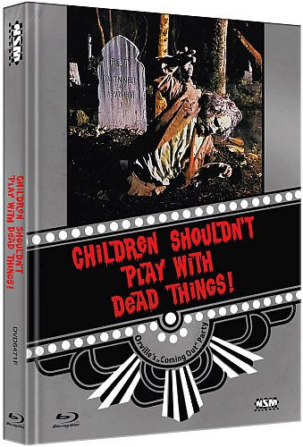 Children shouldnt Play with Dead things - Limited Collector's Edition - Cover F [Bluray+DVD]