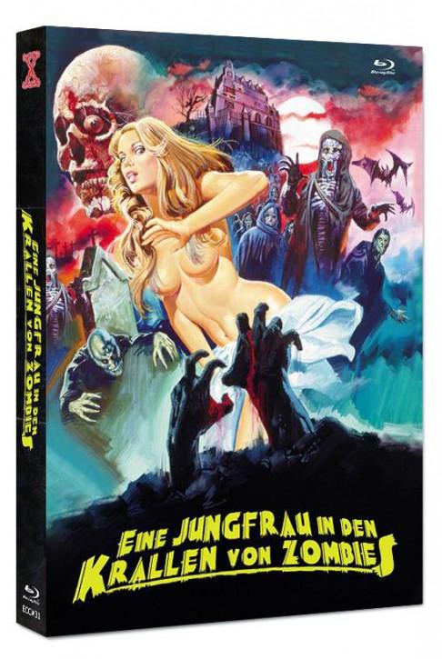 Eine Jungfrau in den Krallen von Zombies - Eurocult Collection #031 - Mediabook - Cover C [Blu-ray+DVD]