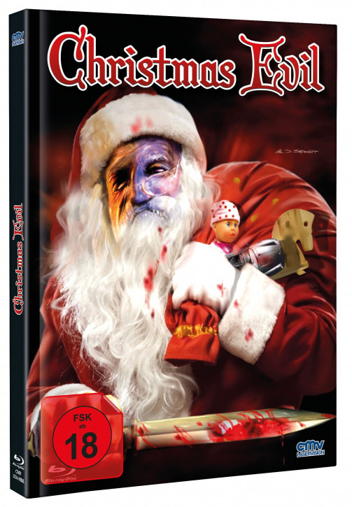 Christmas Evil - Mediabook - Cover B [Blu-ray+DVD]