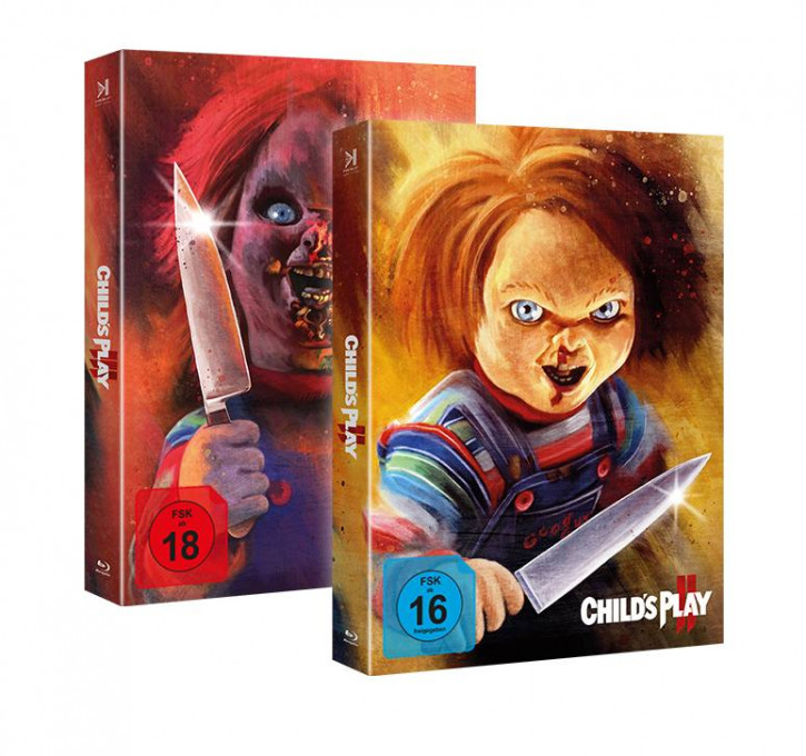 Chucky 2+3 - Piece of Art Combo Box [Blu-ray]