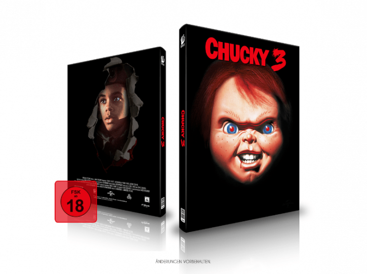 Chucky 3 - Limited Mediabook Edition - Cover B [Blu-ray+CD]