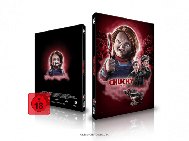 Chucky 3 - Limited Mediabook Edition - Cover A [Blu-ray+CD]