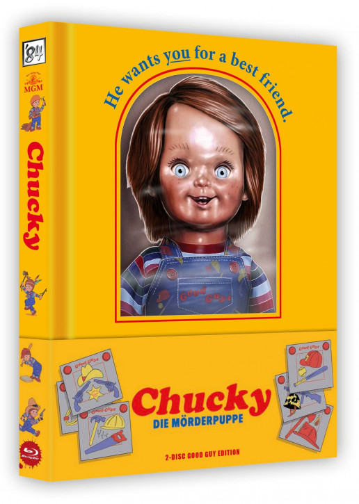 Chucky - Die Mörderpuppe - Good Guy Edition [Blu-ray+DVD]