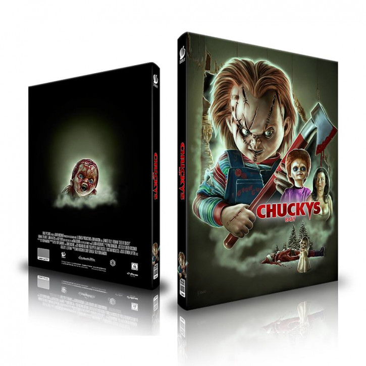 Chuckys Baby - Limited Mediabook Edition - Cover A [Blu-ray+CD]