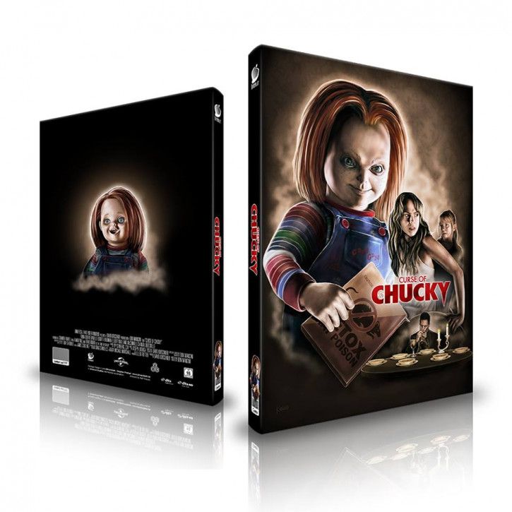 Curse of Chucky - Limited Mediabook Edition - Cover A [Blu-ray+CD]