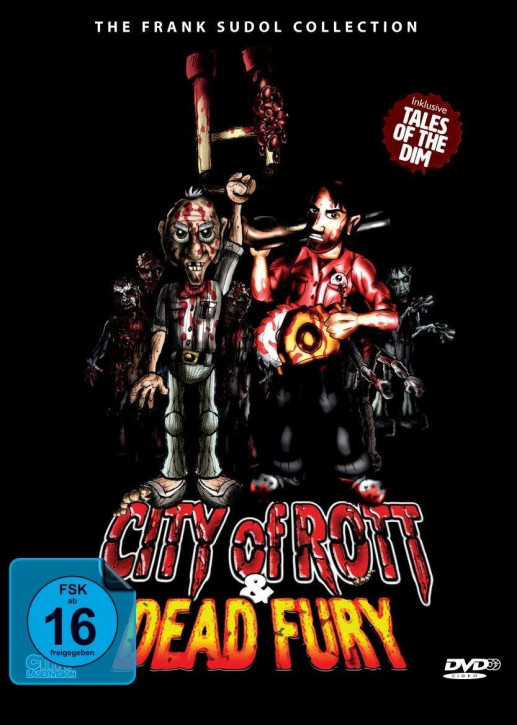 City Of Rott / Dead Fury (Double-Feature) (SD on Blu-ray) (Pop-Up Mediabook) [Blu-ray]