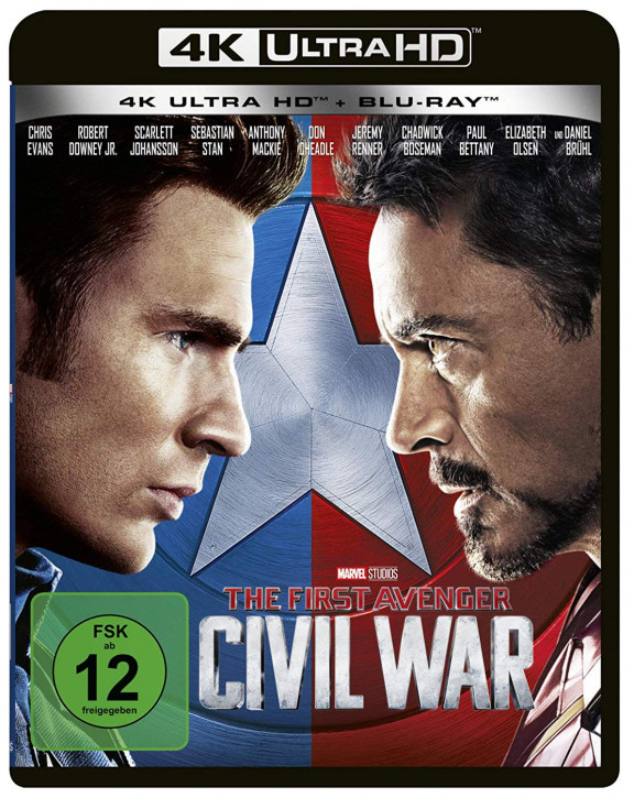 The First Avenger: Civil War (4K Ultra HD)