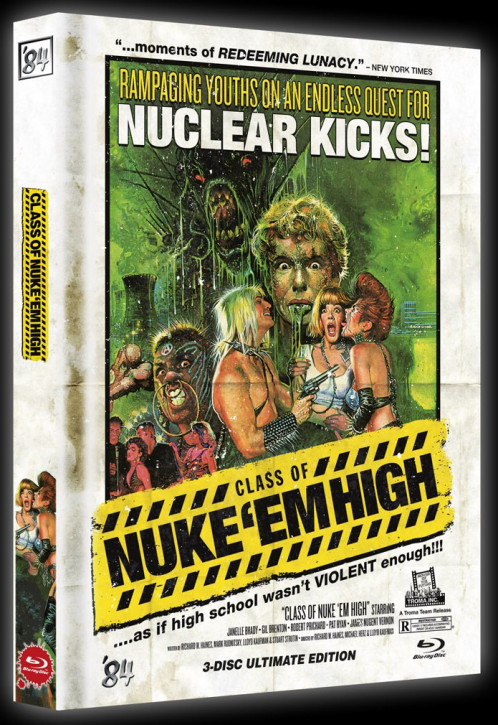 Class of Nuke 'Em High - Cannibal Edition - Super Limited Mediabook - Cover B [Blu-ray + DVD]