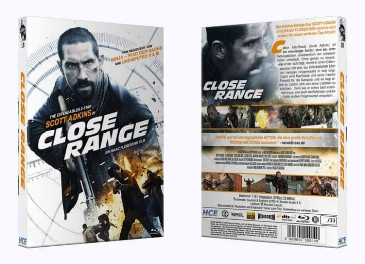 Close Range - Große Hartbox [Blu-ray]