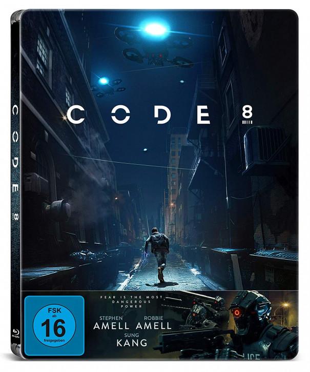 Code 8 - Steelbook [Blu-ray]