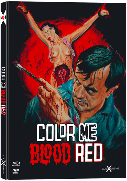 Color Me Blood Red - Limited Collectors Edition - Class-X-Illusions [Blu-ray+DVD]