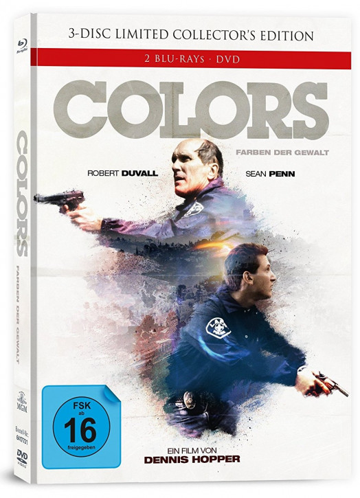 Colors - Farben der Gewalt - Limited Collectors Edition - Cover A [Blu-ray+DVD]