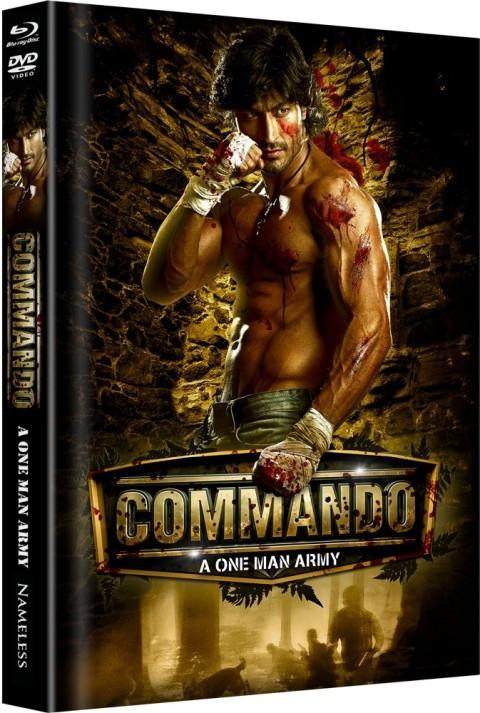 Commando - Limited Mediabook Edition - Cover A [Blu-ray+DVD]