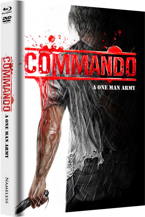 Commando - Limited Mediabook Edition - Cover D [Blu-ray+DVD]