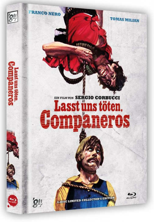 Lasst uns töten. Companeros - Limited Collector's Edition - Cover B [Blu-ray+DVD]