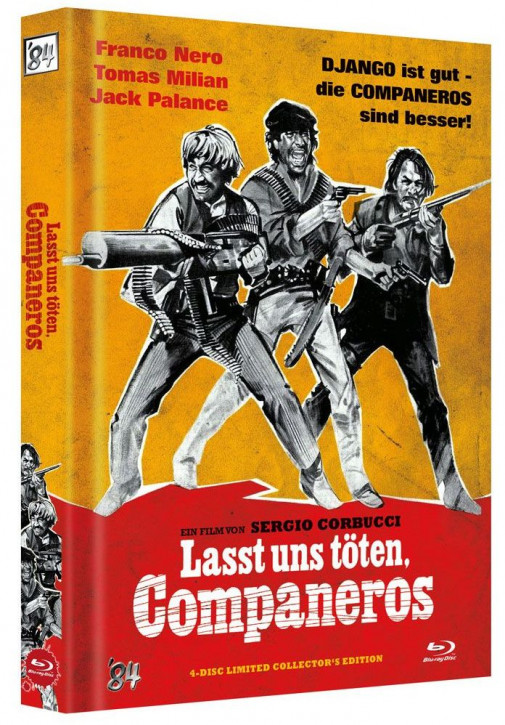 Lasst uns töten. Companeros - Limited Collector's Edition - Cover C [Blu-ray+DVD]
