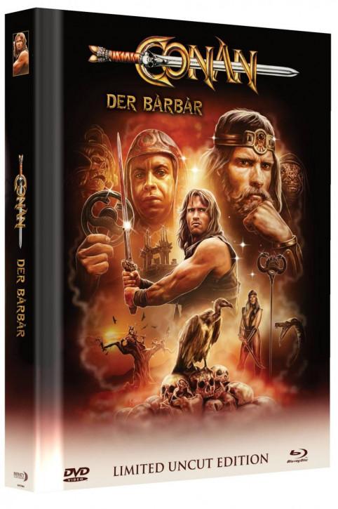 Conan - Der Barbar - Limited Mediabook Edition - Cover A [Blu-ray+DVD]