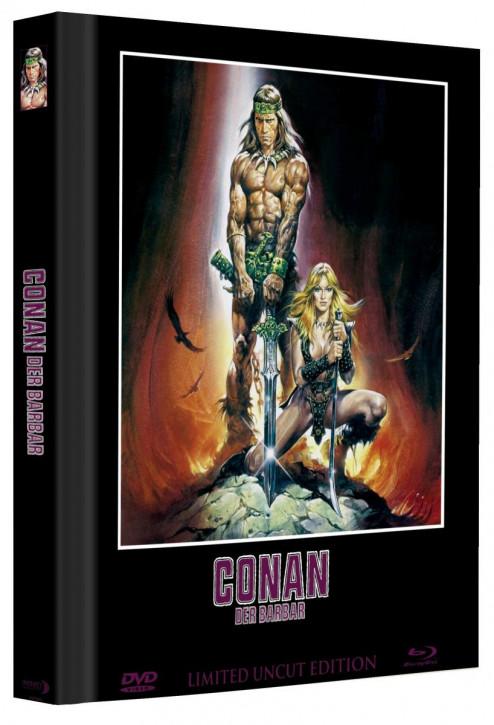Conan - Der Barbar - Limited Mediabook Edition - Cover B [Blu-ray+DVD]