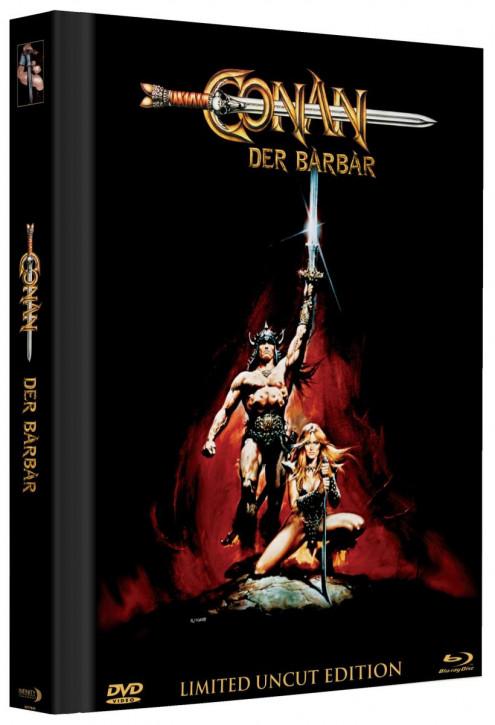 Conan - Der Barbar - Limited Mediabook Edition - Cover C [Blu-ray+DVD]