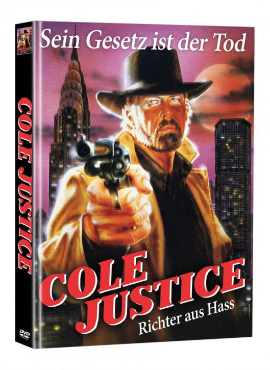 Cole Justice - Limited Mediabook Edition (Super Spooky Stories #84) [DVD]