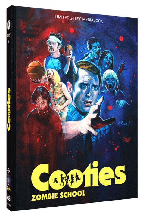 Cooties - Zombie School - Limited Mediabook Edition - Cover A [Blu-ray+DVD]