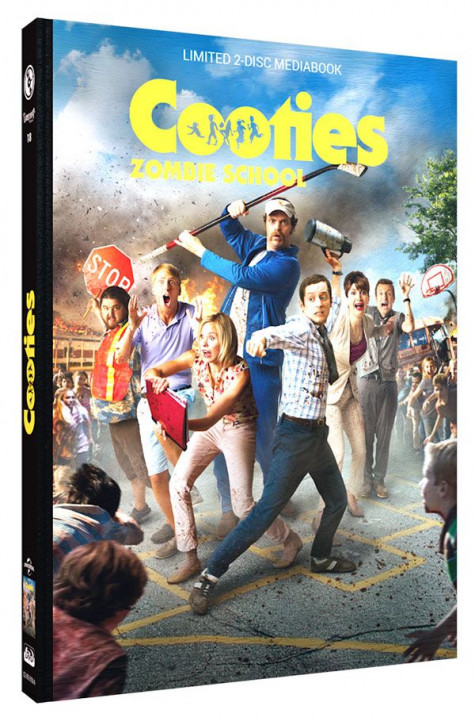 Cooties - Zombie School - Limited Mediabook Edition - Cover B [Blu-ray+DVD]