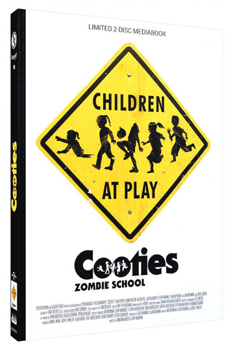 Cooties - Zombie School - Limited Mediabook Edition - Cover C [Blu-ray+DVD]