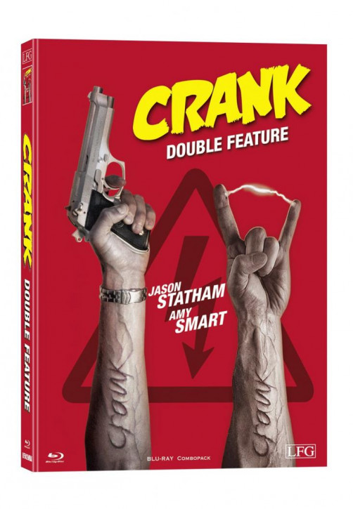 Crank 1+2 Double Feature - Mediabook - Cover A [Blu-ray]