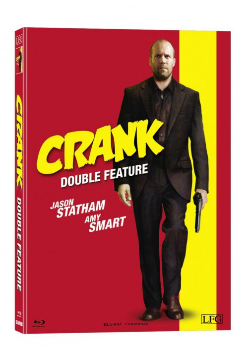 Crank 1+2 Double Feature - Mediabook - Cover B [Blu-ray]
