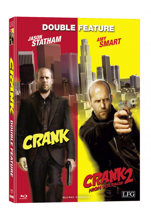 Crank 1+2 Double Feature - Mediabook - Cover C [Blu-ray]
