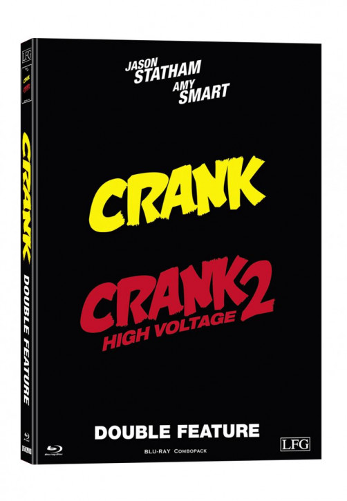 Crank 1+2 Double Feature - Mediabook - Cover D [Blu-ray]