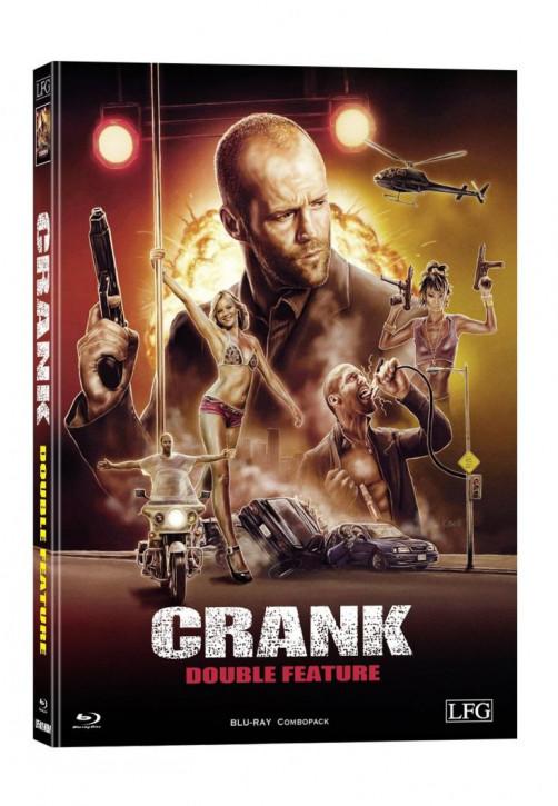 Crank 1+2 Double Feature - wattiertes Mediabook [Blu-ray]