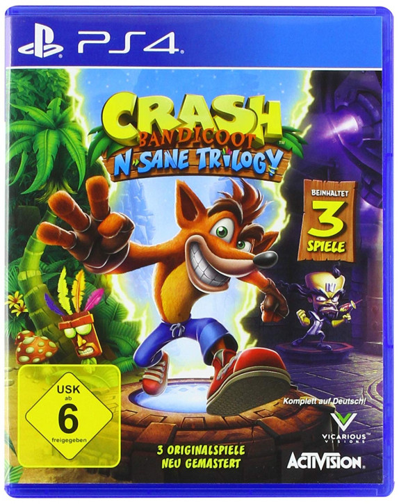 Crash Bandicoot N.Sane Trilogy [PS4]