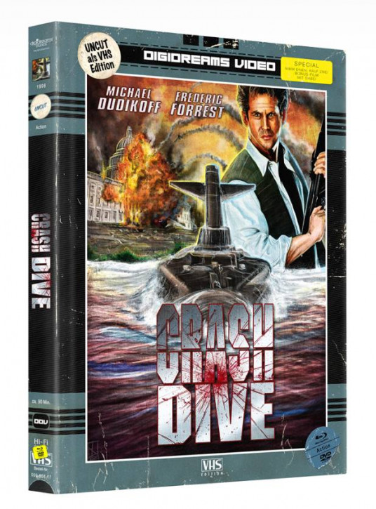 Crash Dive - Limited Mediabook VHS Edition [Blu-ray+DVD]