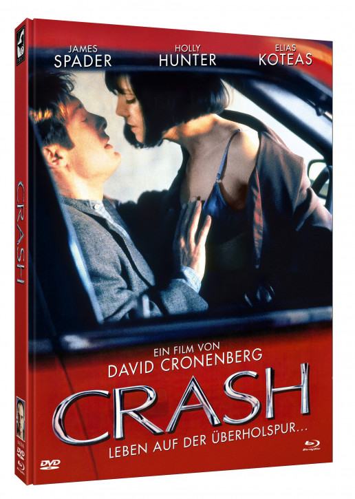 Crash - Limited Mediabook Edition - Cover B [Blu-ray+DVD]