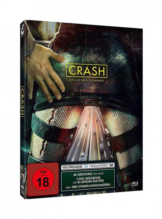 Crash - Limited Mediabook Edition [Blu-ray+DVD]