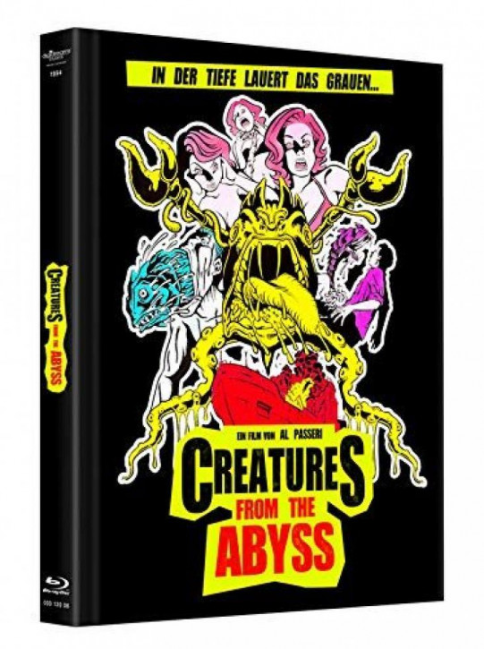 Creatures from the Abyss  - Mediabook [Blu-ray]