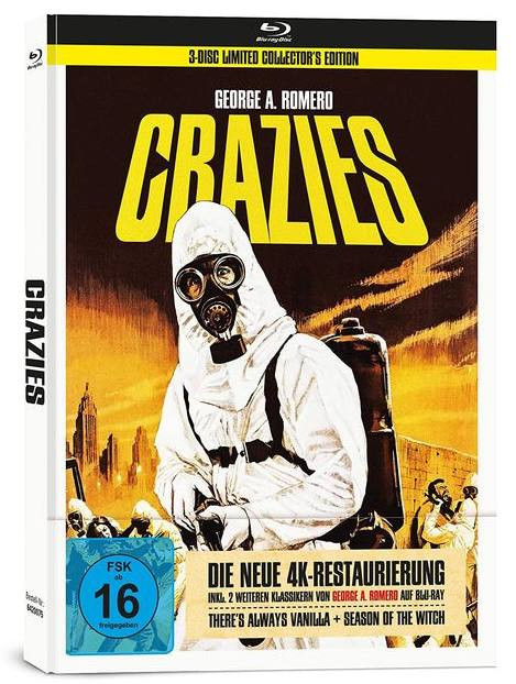 Crazies - Limited Mediabook Edition [Blu-ray]