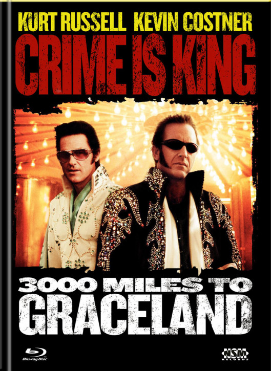 Crime is king - 3000 Miles to Graceland - Limited Mediabook Edition - Cover A [Blu-ray+DVD]