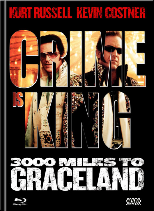 Crime is king - 3000 Miles to Graceland - Limited Mediabook Edition - Cover B [Blu-ray+DVD]