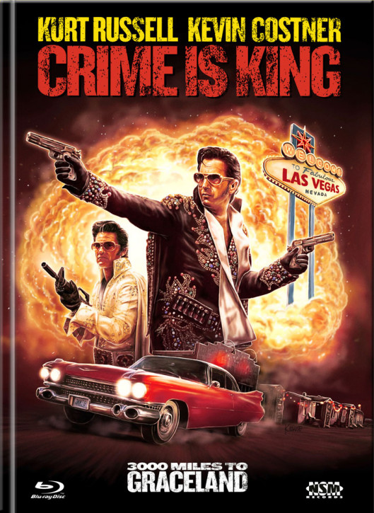 Crime is king - 3000 Miles to Graceland - Limited Mediabook Edition - Cover C [Blu-ray+DVD]