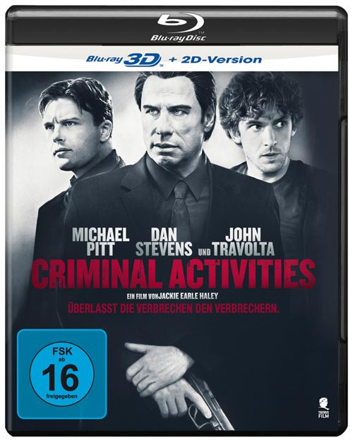 Criminal Activities [3D Blu-ray]