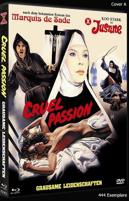 Cruel Passion - Grausame Leidenschaften - Eurocult Collection #012 - Cover A [Blu-ray+DVD]