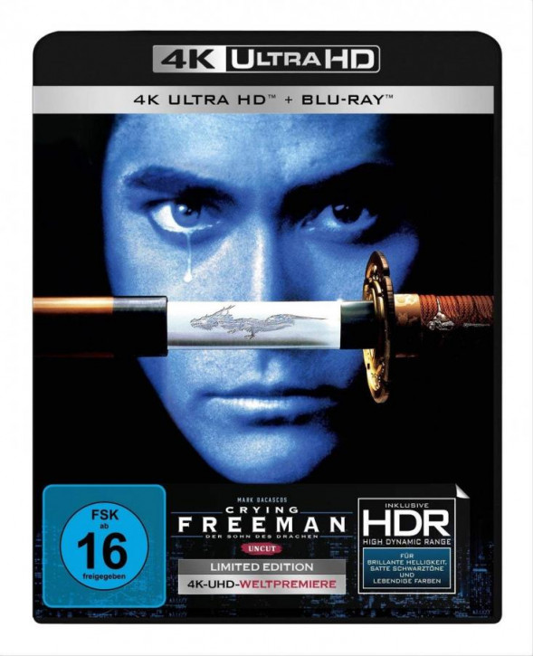 Crying Freeman - Uncut [4K UHD+Blu-ray]