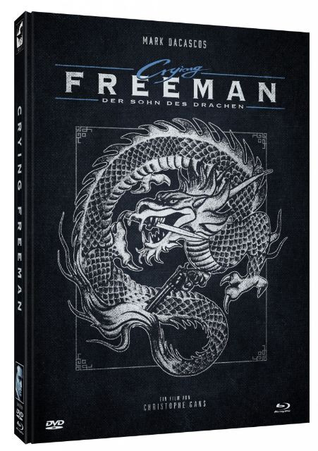 Crying Freeman - Limited Mediabook Edition - Cover A [Blu-ray+DVD]