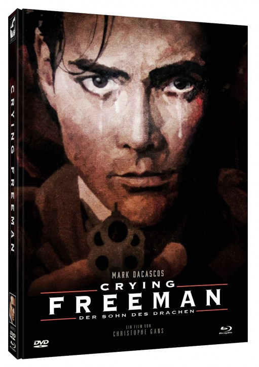 Crying Freeman - Limited Mediabook Edition - Cover B [Blu-ray+DVD]