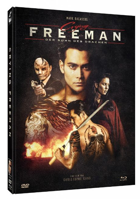 Crying Freeman - Limited Mediabook Edition - Cover C [Blu-ray+DVD]