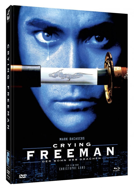Crying Freeman - Limited Mediabook Edition - Cover D [Blu-ray+DVD]
