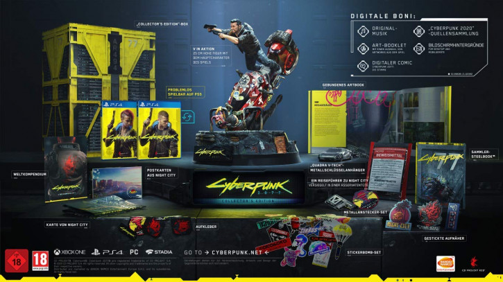 Cyberpunk 2077 - Collector's Edition [PS4]