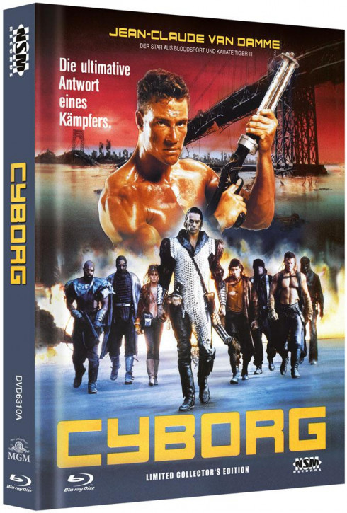 Cyborg - Limited Collector's Edition - Cover A [Blu-ray+DVD]